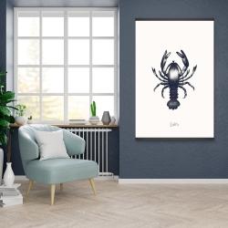 Magnetic 28 x 42 - Blue lobster