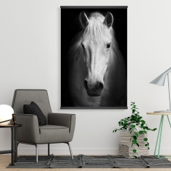 Magnetic 28 x 42 - Monochrome horse