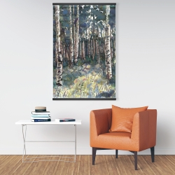 Magnetic 28 x 42 - Birches
