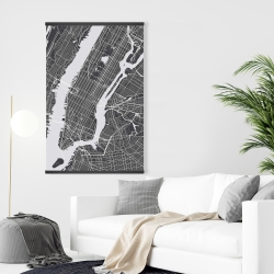 Magnetic 28 x 42 - New-york city plan