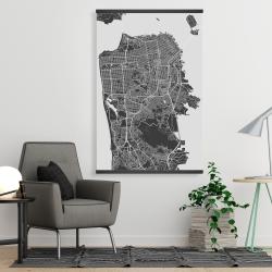 Magnetic 28 x 42 - San francisco city plan
