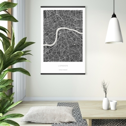 Magnetic 28 x 42 - Graphic map of london