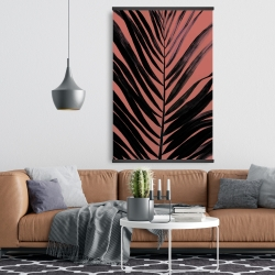 Magnetic 28 x 42 - Coral tropical palm leave