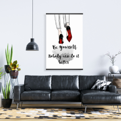 Magnetic 28 x 42 - Be yourself