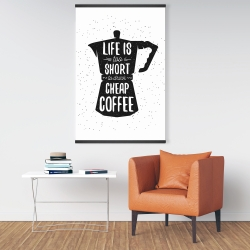 Magnetic 28 x 42 - Life and coffee