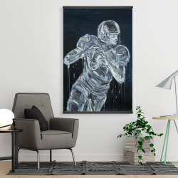 Magnetic 28 x 42 - Football player
