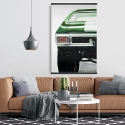 Magnetic 28 x 42 - Classic dark green car