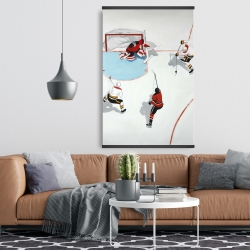 Magnetic 28 x 42 - Eventful hockey game