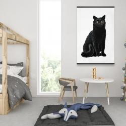 Magnetic 28 x 42 - Black cat