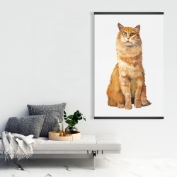 Magnetic 28 x 42 - Ginger cat