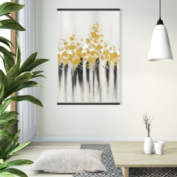 Magnetic 28 x 42 - Abstract gold flowers