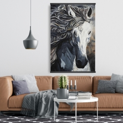 Magnetic 28 x 42 - Front wild horse