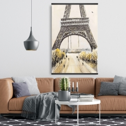 Magnetic 28 x 42 - Eiffel tower with flying birds
