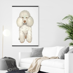 Magnetic 28 x 42 - French poodle