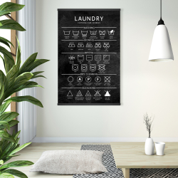 Magnetic 28 x 42 - Laundry