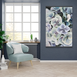 Magnetic 28 x 42 - Colorful hydrangea flowers