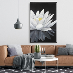 Magnetic 28 x 42 - Lotus flower with reflection