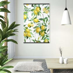 Magnetic 28 x 42 - Lemon pattern