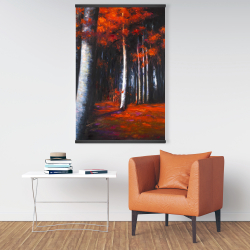Magnetic 28 x 42 - Mysterious forest