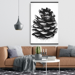 Magnetic 28 x 42 - Pine cone