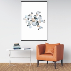 Magnetic 28 x 42 - Grayish bubbles
