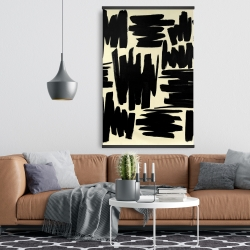 Magnetic 28 x 42 - Deconstructed stripes