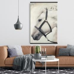 Magnetic 28 x 42 - Darius the white horse