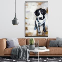 Magnetic 28 x 42 - Sitting dog
