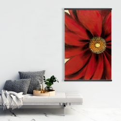 Magnetic 28 x 42 - Red daisy