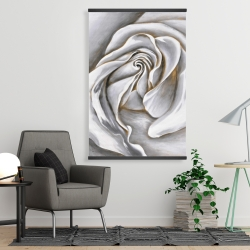Magnetic 28 x 42 - White rose delicate
