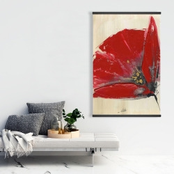 Magnetic 28 x 42 - Three red flowers