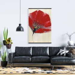 Magnetic 28 x 42 - Two red flowers