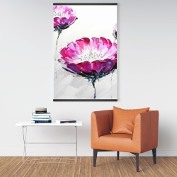 Magnetic 28 x 42 - Pink wild flowers