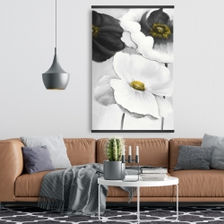 Magnetic 28 x 42 - Assorted white flowers