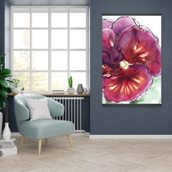 Magnetic 28 x 42 - Blossoming orchid with wavy petals