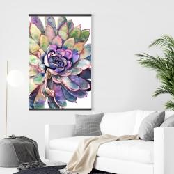 Magnetic 28 x 42 - Multicolored succulent