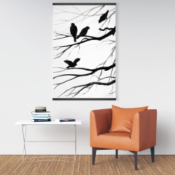 Magnetic 28 x 42 - Silhouette of birds