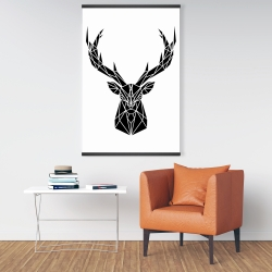 Magnetic 28 x 42 - Geometric deer head