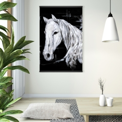 Magnetic 28 x 42 - Abstract horse profile view