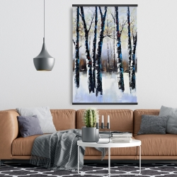 Magnetic 28 x 42 - Frosted trees