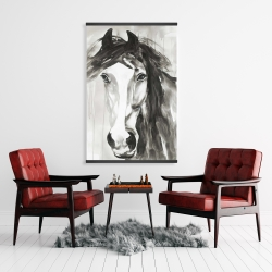 Magnetic 28 x 42 - Beautiful wild horse