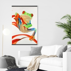 Magnetic 28 x 42 - Red-eyed frog