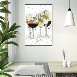 Magnetic 28 x 42 - Beautiful wine glasses