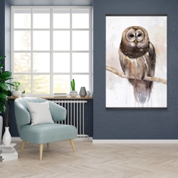 Magnetic 28 x 42 - Barred owl