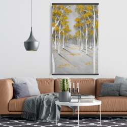 Magnetic 28 x 42 - Yellow birch forest