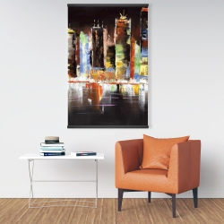 Magnetic 28 x 42 - Cityscape by night