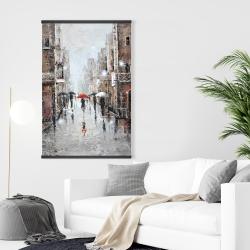 Magnetic 28 x 42 - City rain