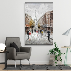 Magnetic 28 x 42 - Paris busy street