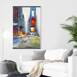 Magnetic 28 x 42 - Abstract and colorful buildings