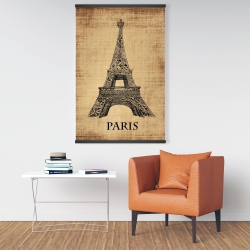 Magnetic 28 x 42 - Eiffel tower illustration